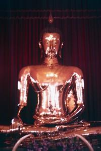 Goldener Buddah in Bangkok