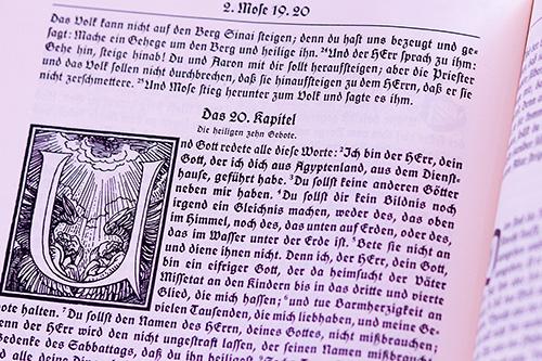 Bibel: Moses - Die 10 Gebote